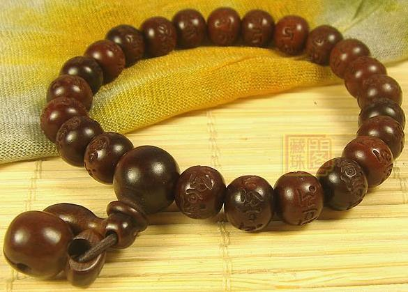 Consecration Tibetan OM Mantra Wrist Malas Buddhist Prayer