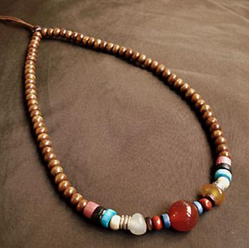 Fashion Tibetan Handmade Leather Necklace