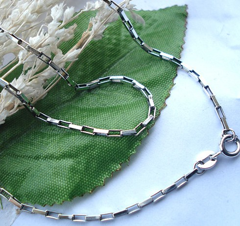 Handmade Tibe Sterling Silver Necklace