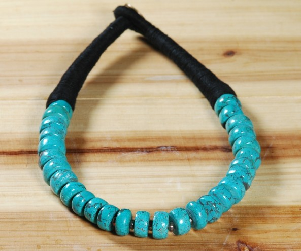 Handmade Tibetan Turquoise Necklace Tibetan Beads Necklace