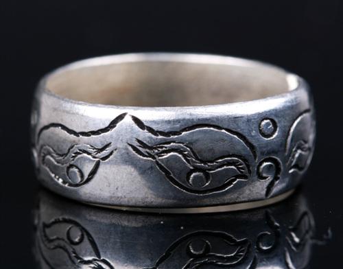 Tibetan Buddha Eye Ring Handmade Tibetan Wisdom Eye Ring