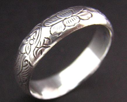 Tibetan Handmade Ring Tibetan Dragon Sterling Silver Ring