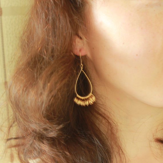 Handmade 14K Gold Filled Earrings