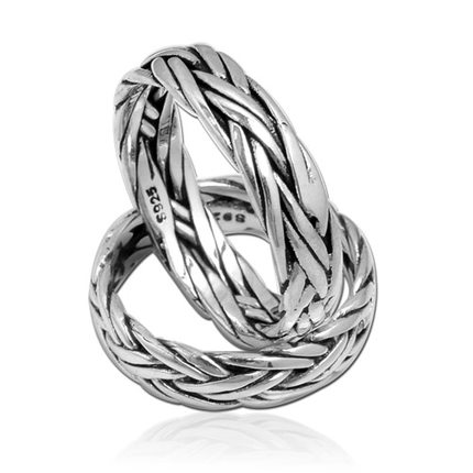 Men And Women 925 Silver Couple Rings