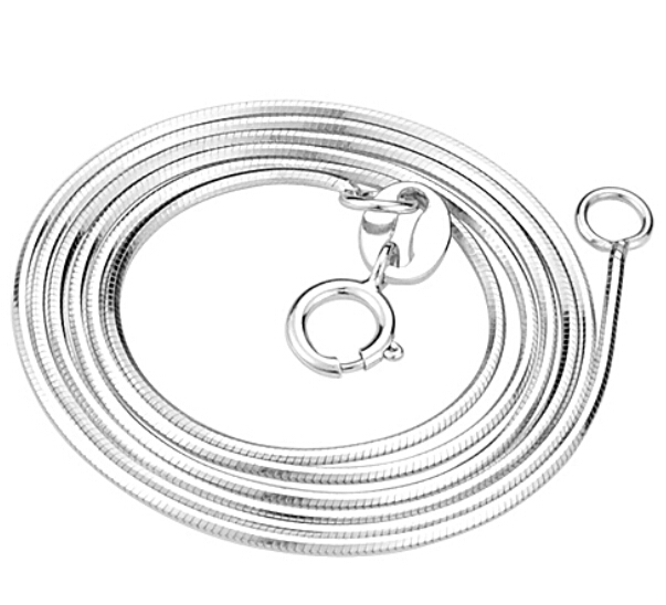 925 Sterling Silver Snake Chain Necklace
