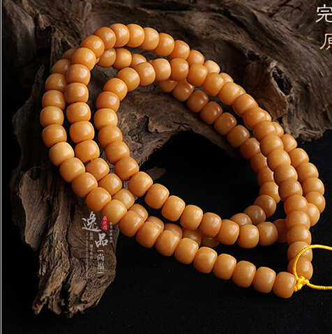 9MM 108 Bodhi Root Beads Prayer Beads Bracelet