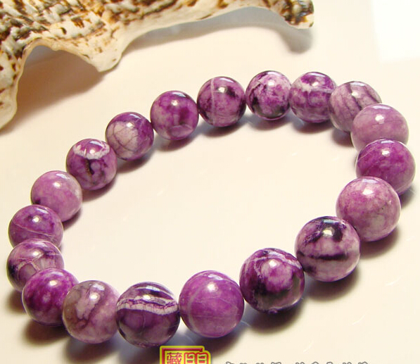 South Africa Natural Sugilite 6mm-10mm Bracelet