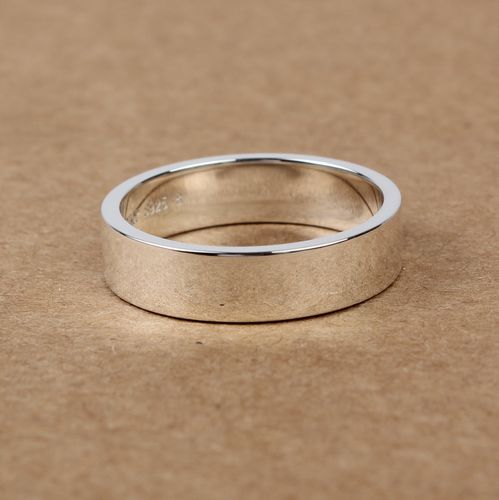 Handmade S925 Sterling Silver Simple Women Ring Wishbop Com